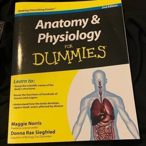 Anatomy and physiology for dummies textbook